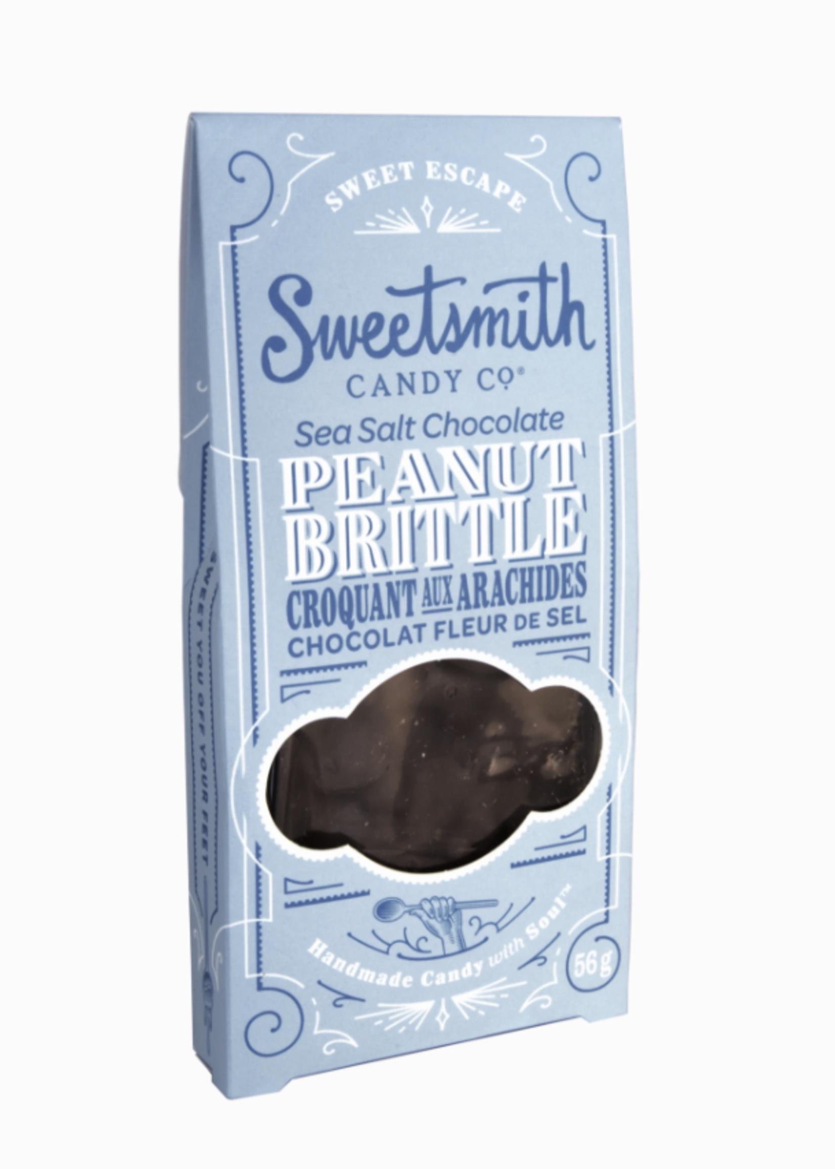 Sweetsmith Candy Co. Sea Salt Chocolate Peanut Brittle