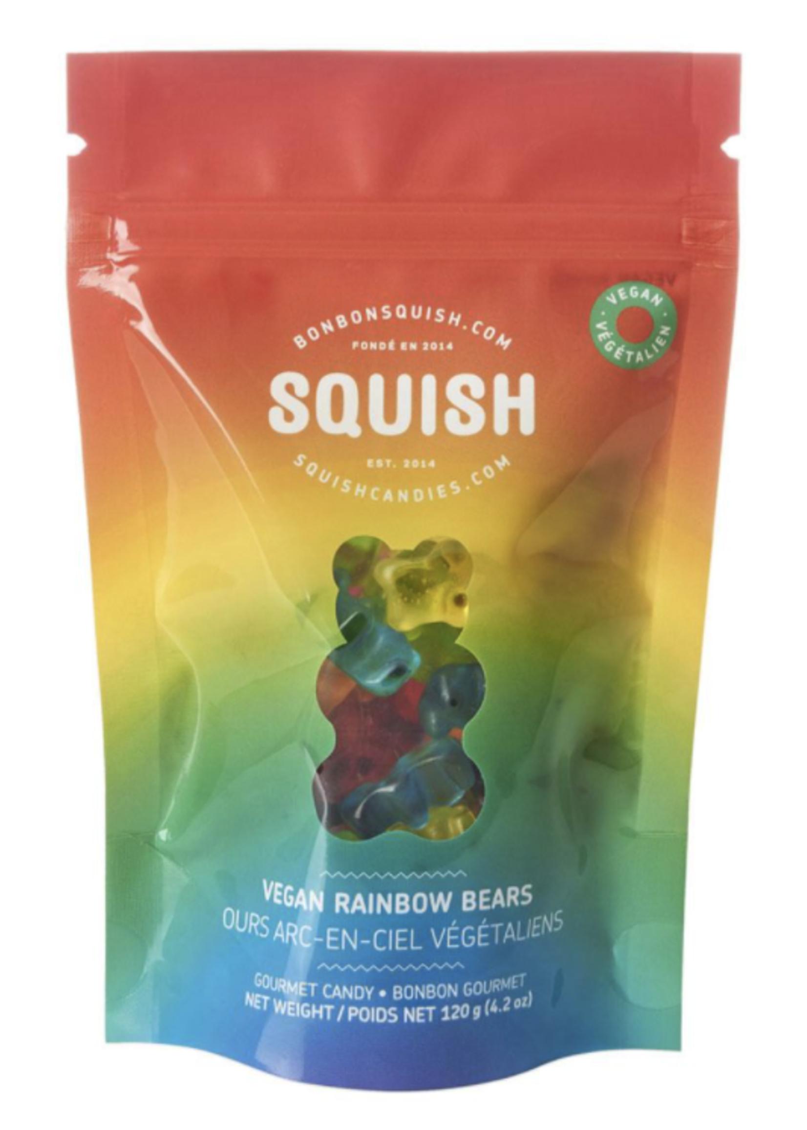 Squish Candy Vegan Rainbow Bears