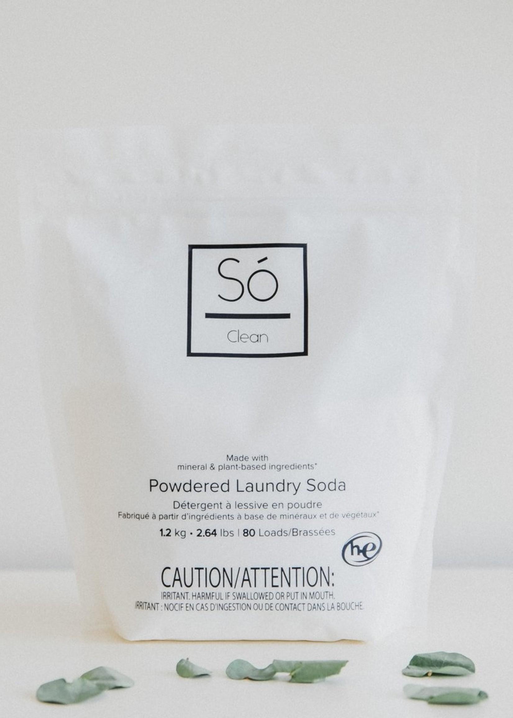 Só Luxury Só Clean   Powdered Laundry Soda