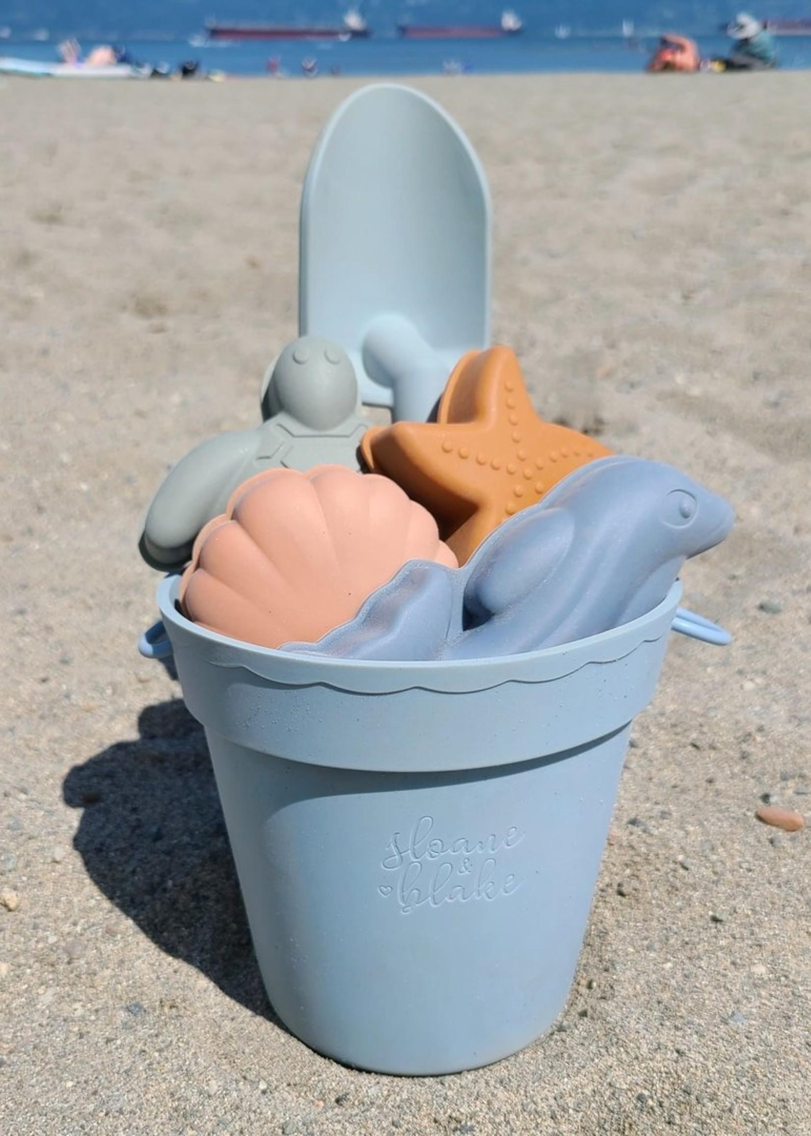 Sloane & Blake Silicone Beach Toy Playset