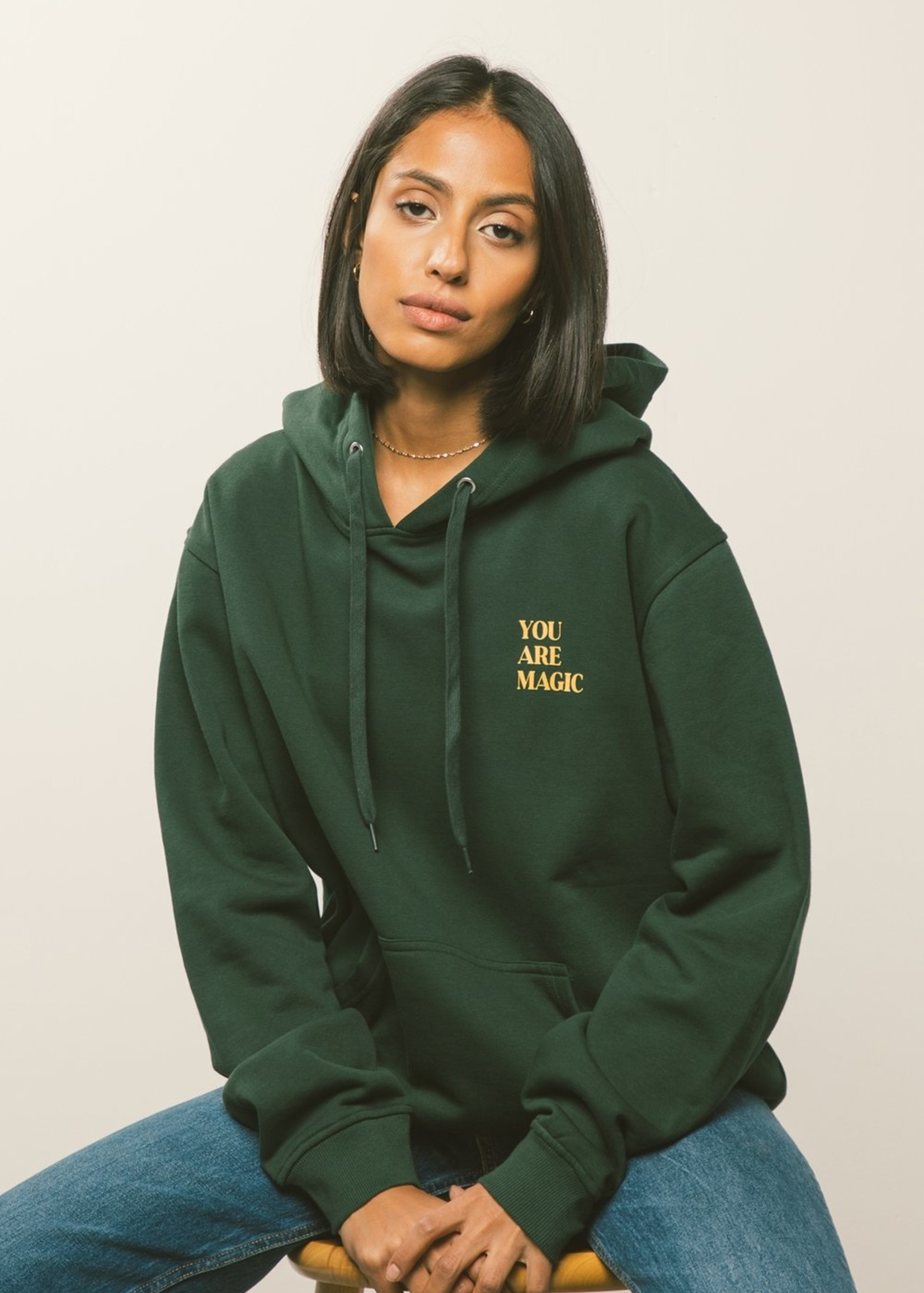Peace Collective You Are Magic Hoodie | Forest