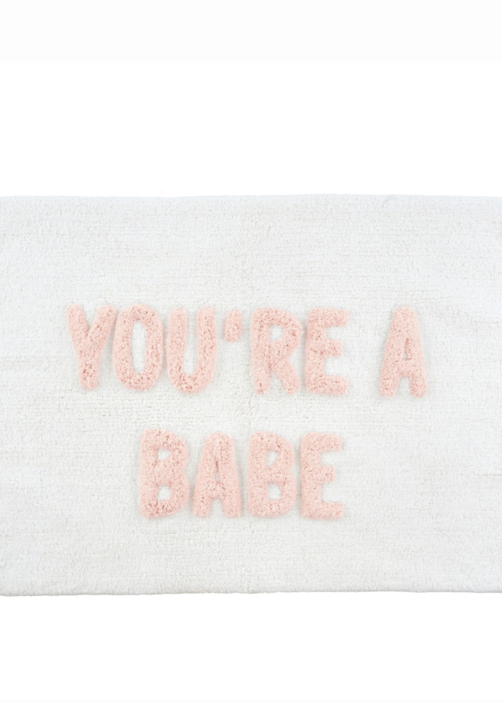 Indaba Trading Co You're A Babe Bathmat