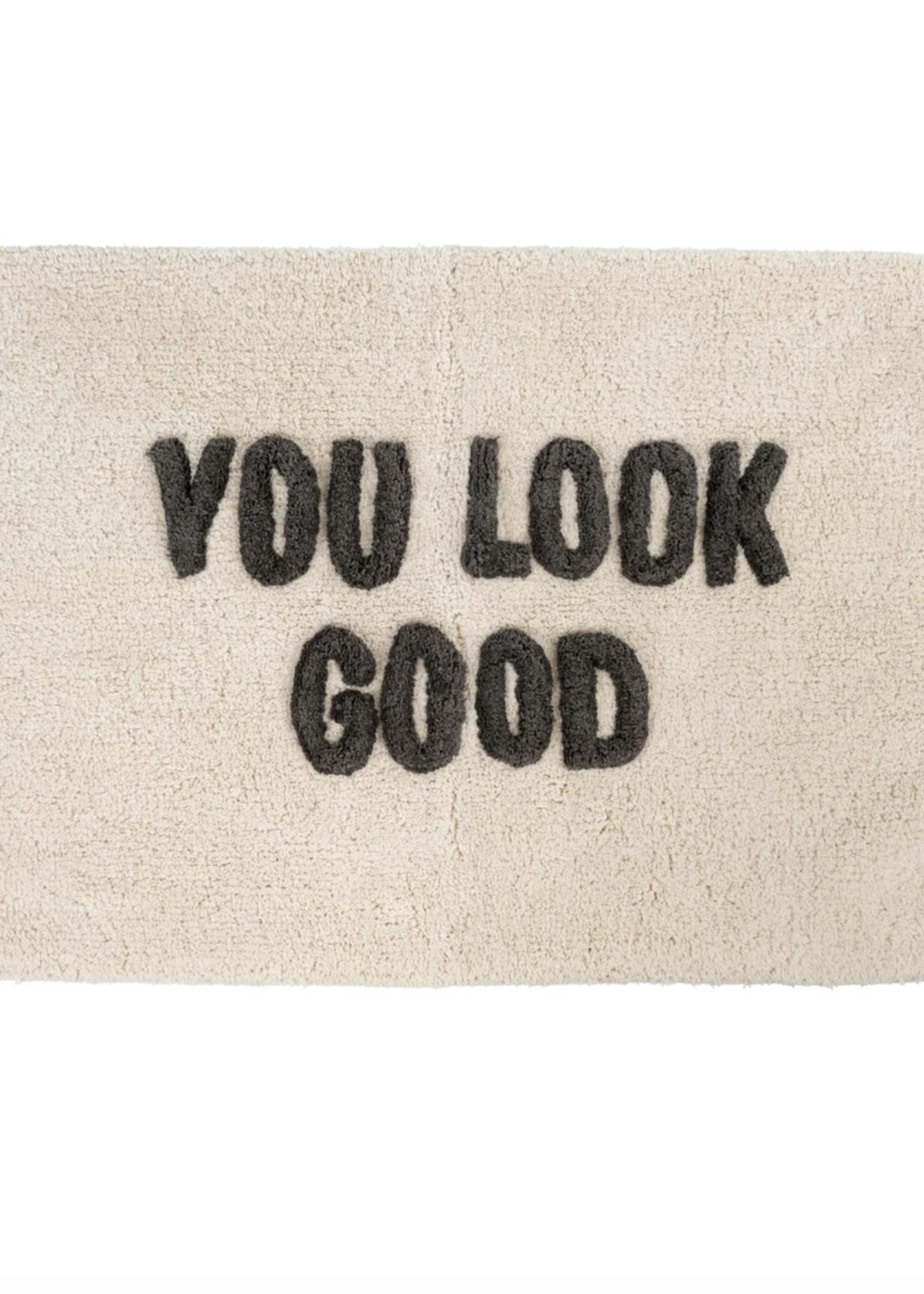 Indaba Trading Co You Look Good Bath Mat