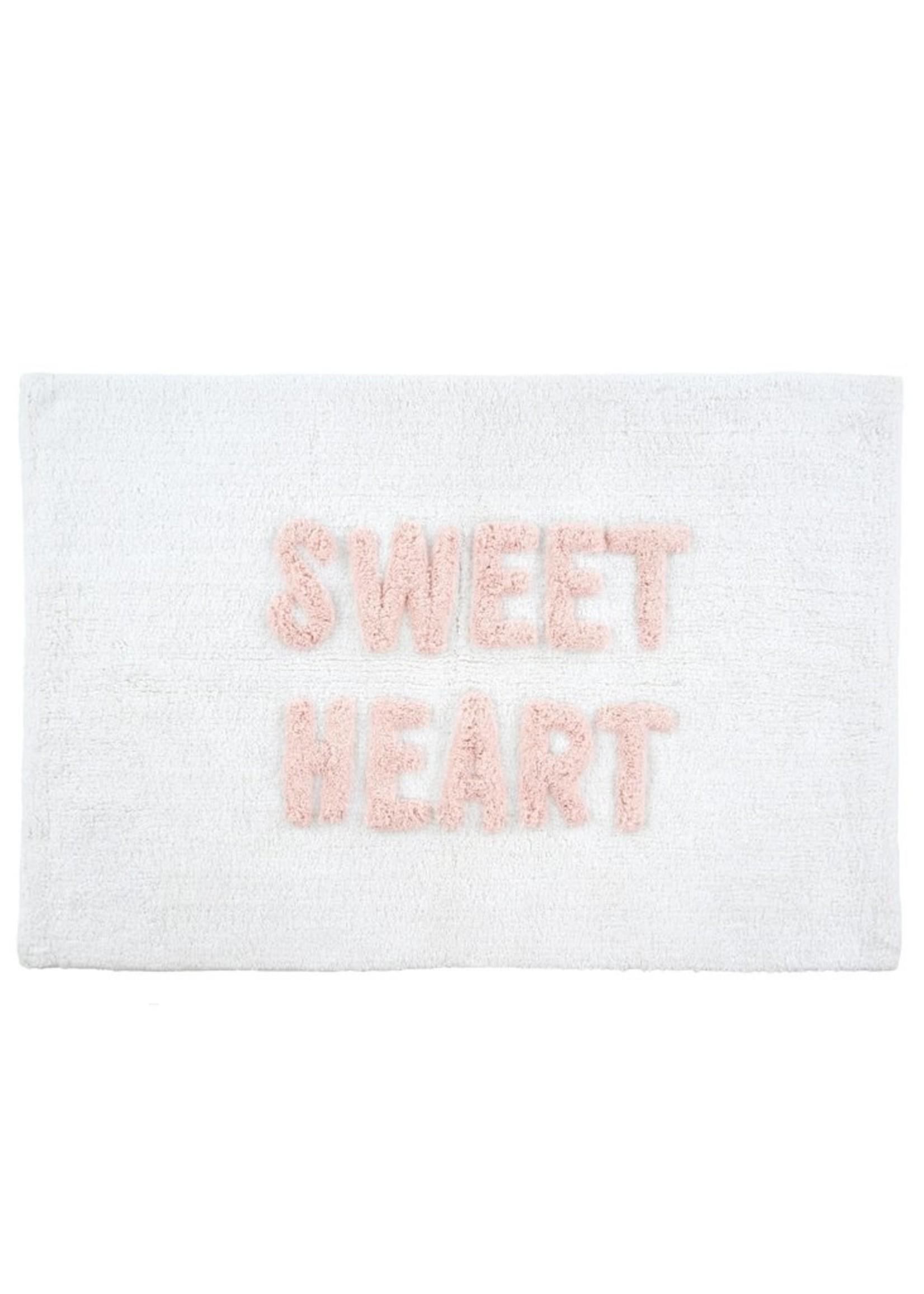 Indaba Trading Co Sweet Heart Bath Mat