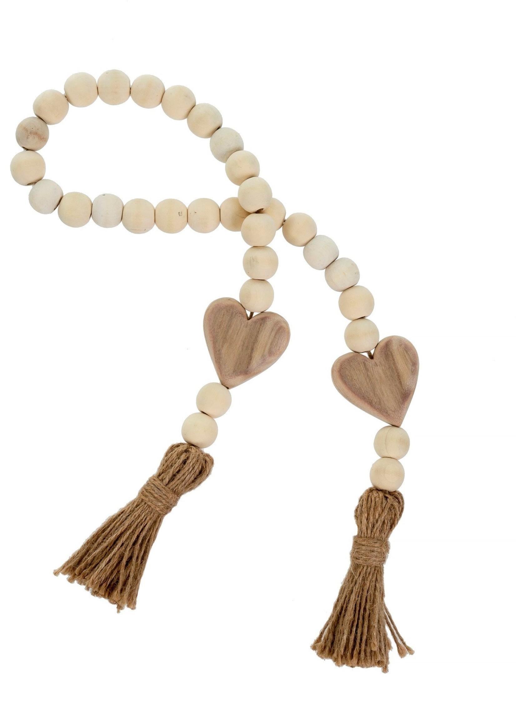 Indaba Trading Co Prayer Beads - Natural
