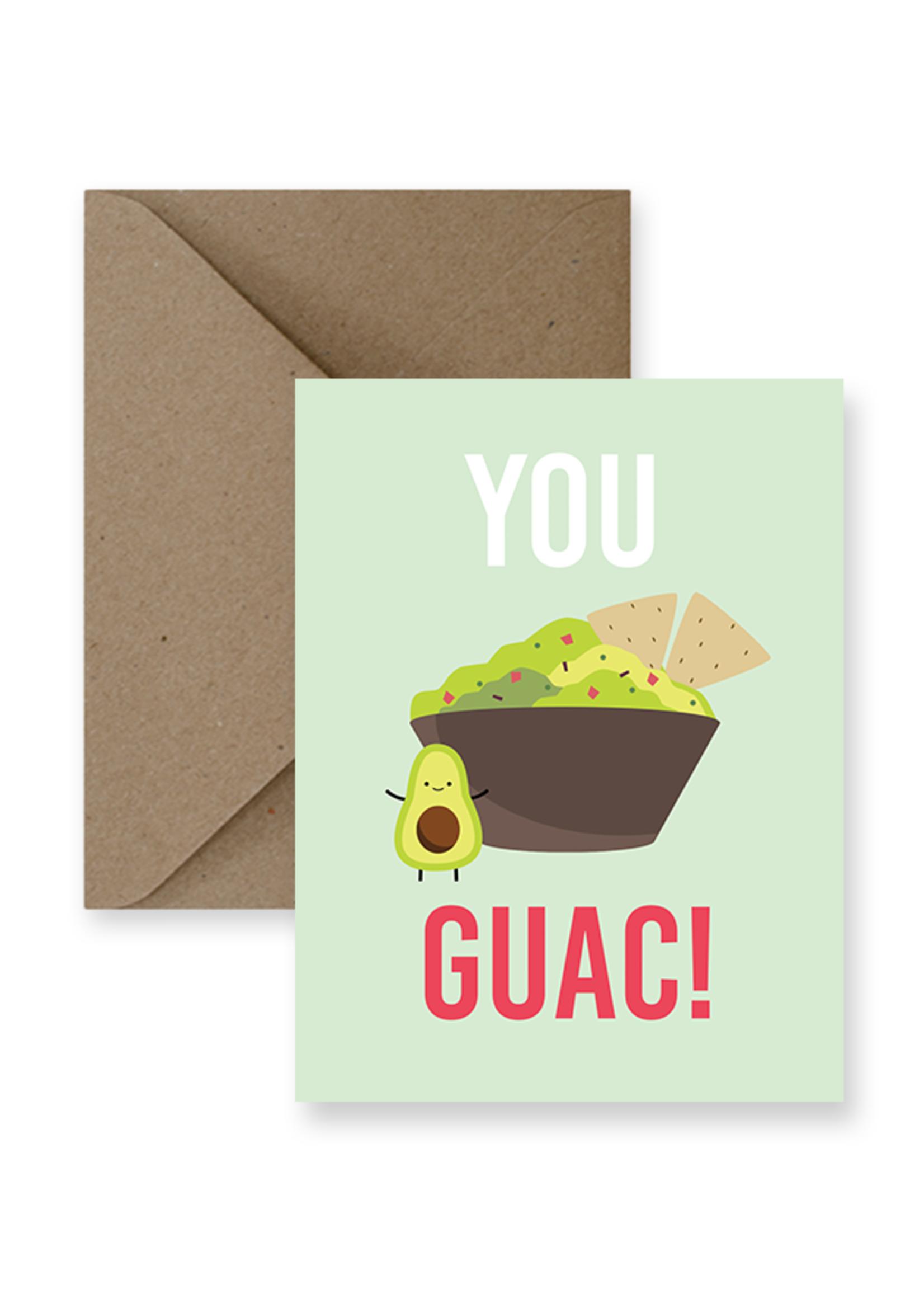 IMPAPER You Guac! Card