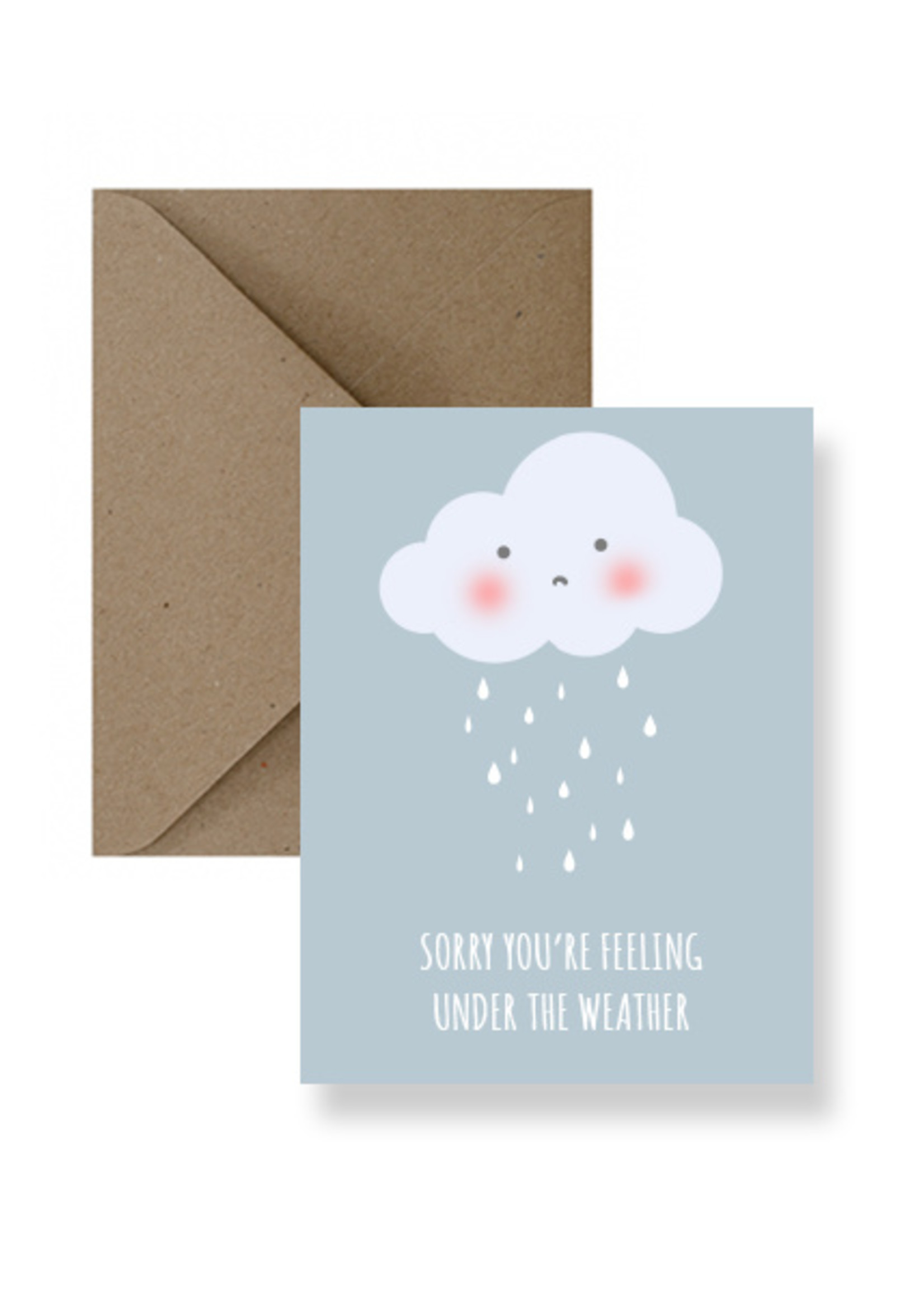 IMPAPER Under The Weather Card