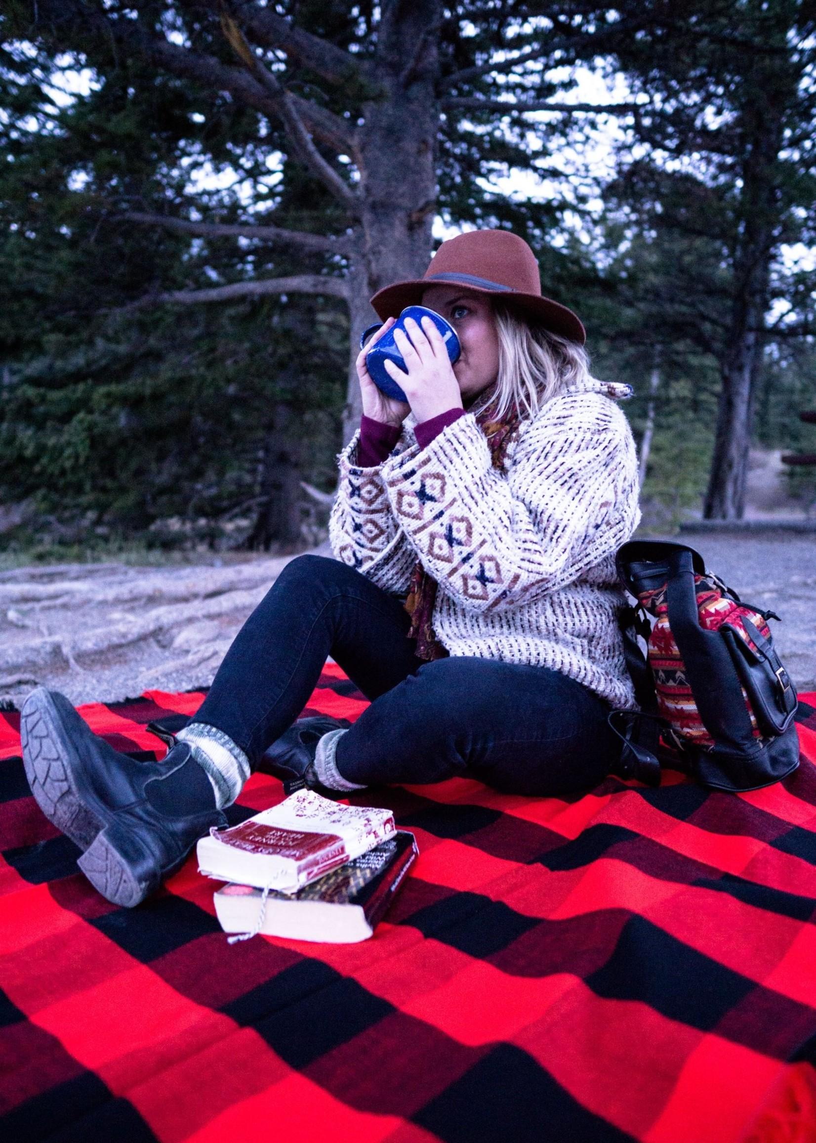 Heartprint Threads The Buffalo Wear Plaid | Picnic Blanket