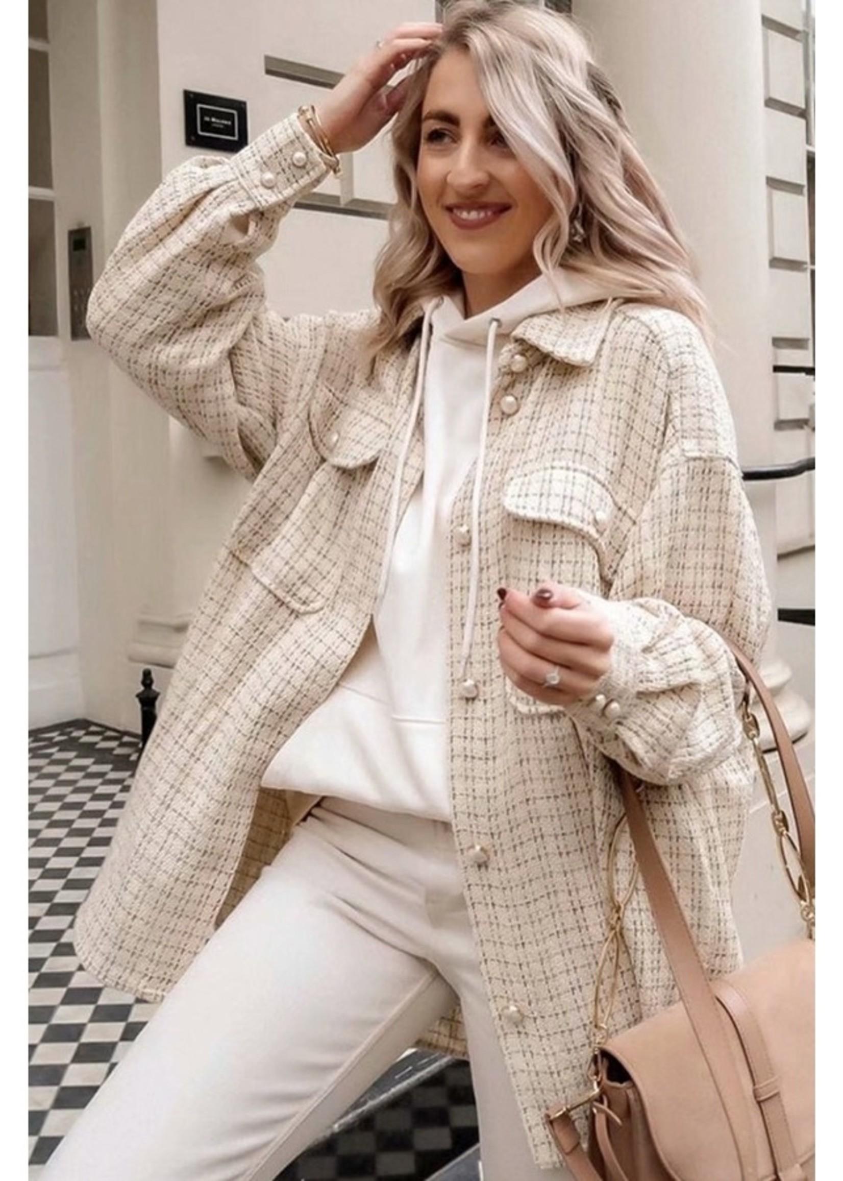 Tweed Plaid Shacket