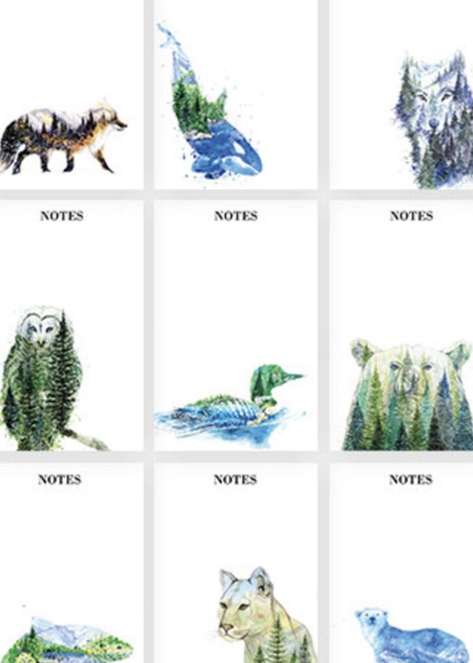Elena Markelova Watercolour Notepad   Animals