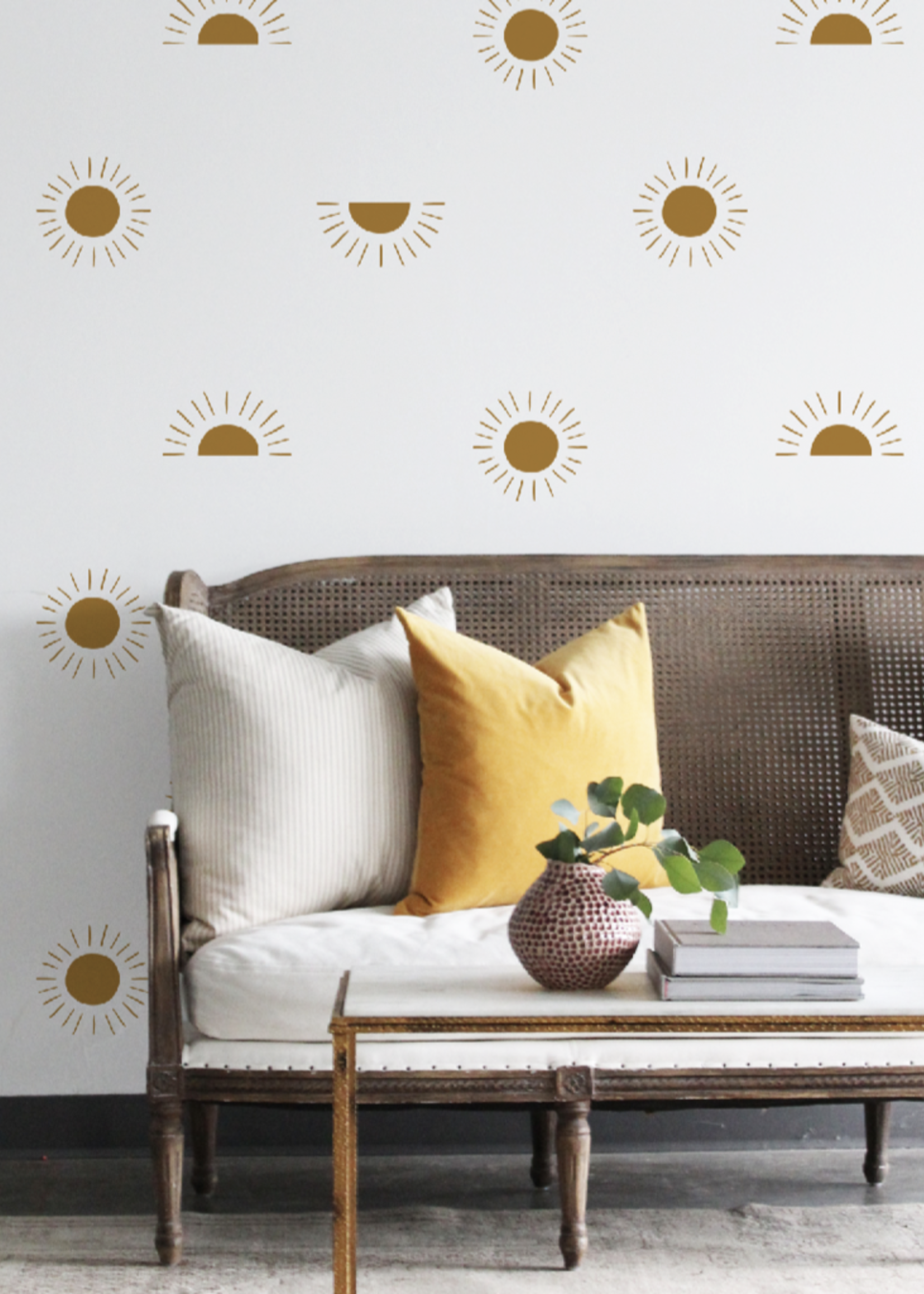 Urban Walls Gold Sunscape