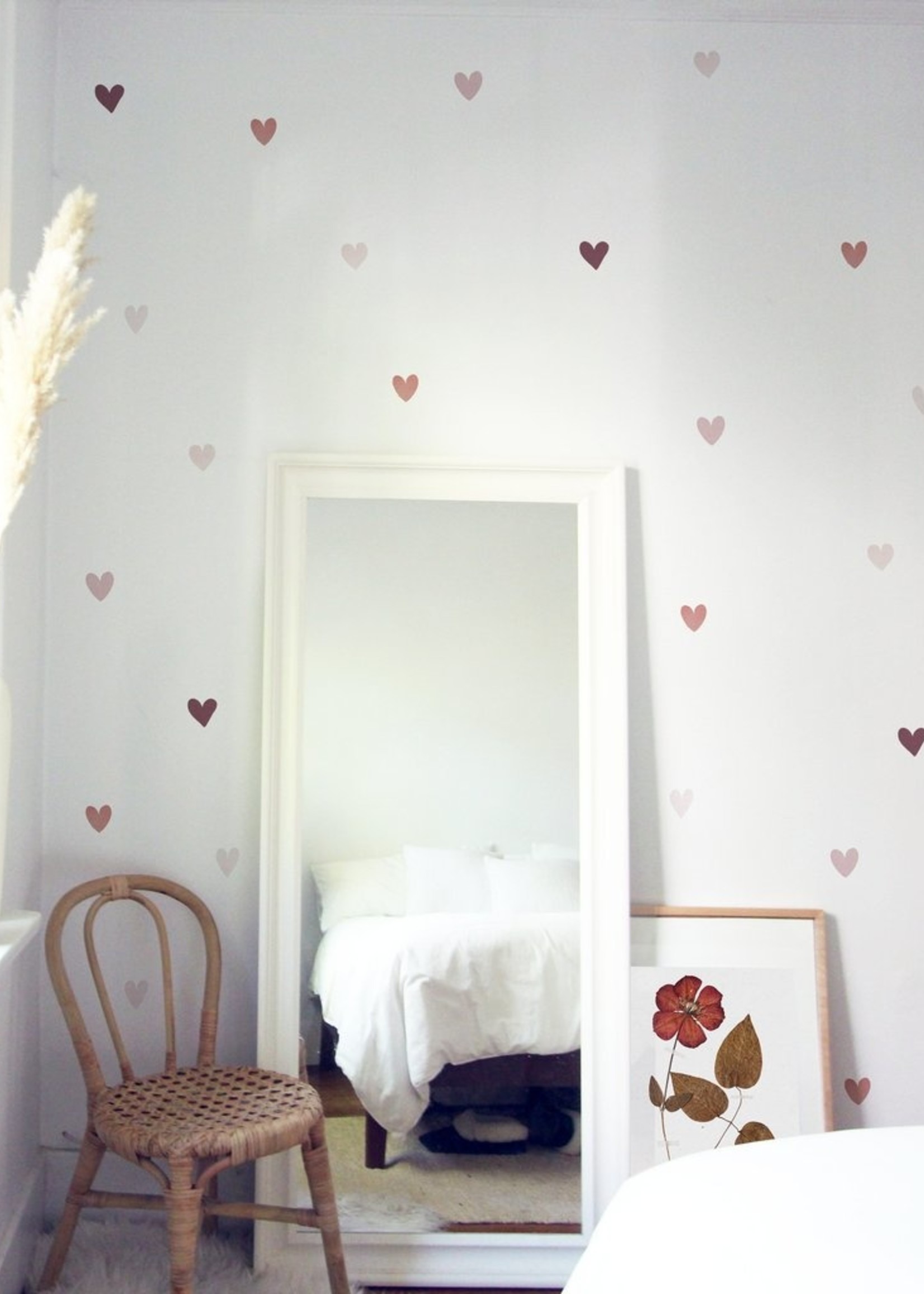 Urban Walls Watercolour Hearts