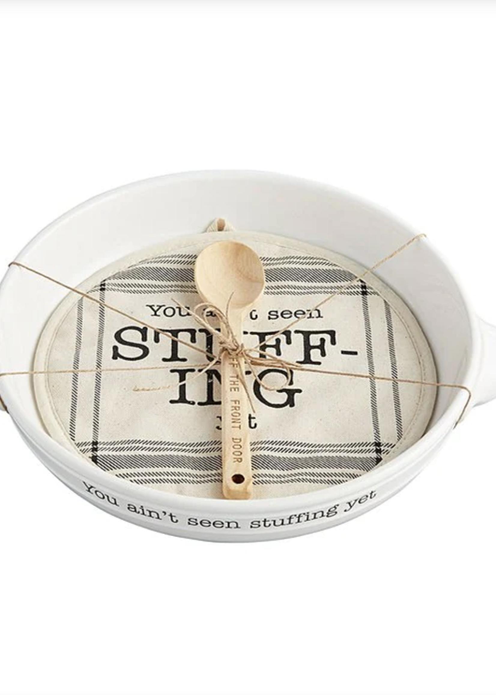 Mud Pie Stuffing Dish Set