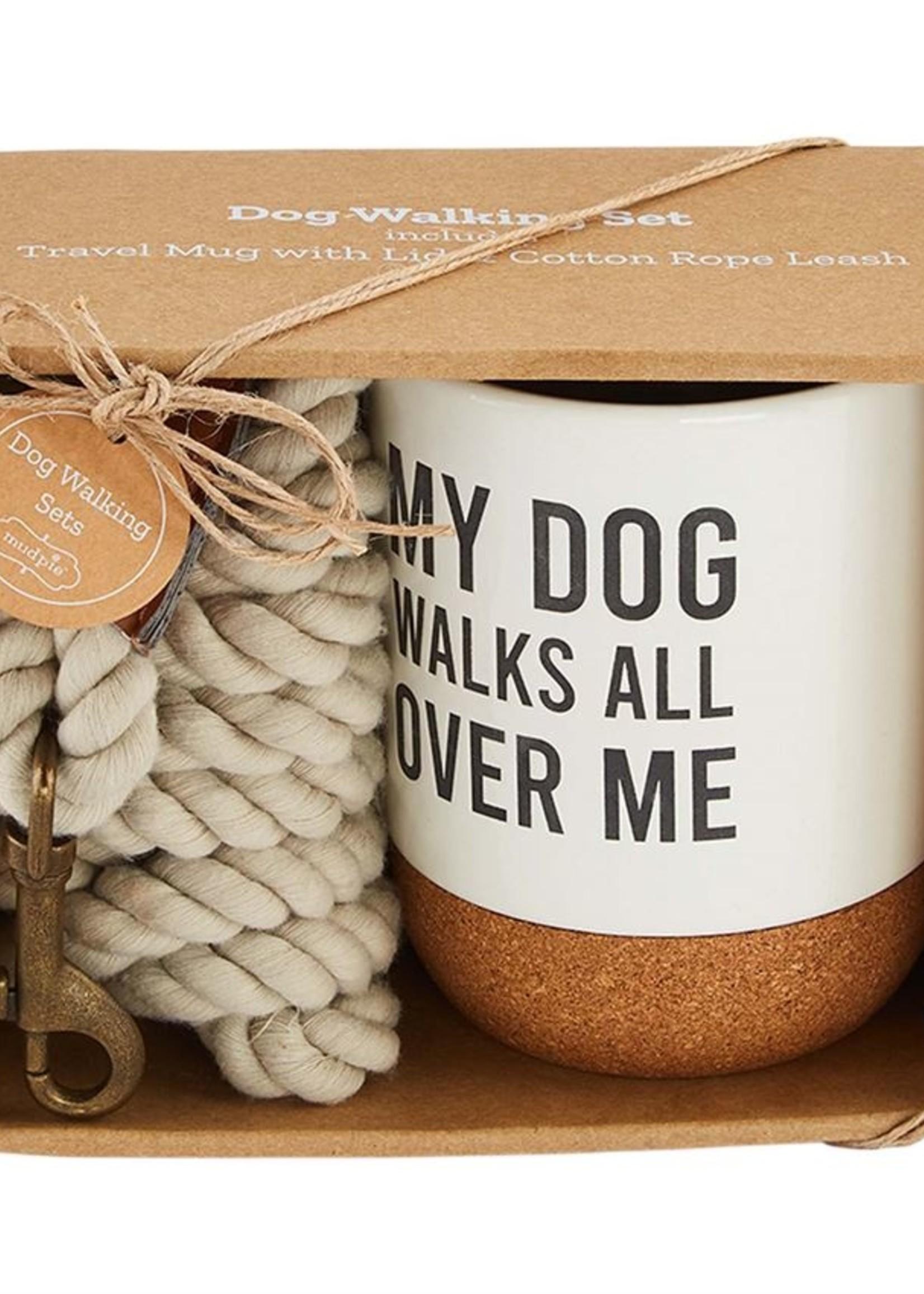 Mud Pie Dog Leash & Mug Set