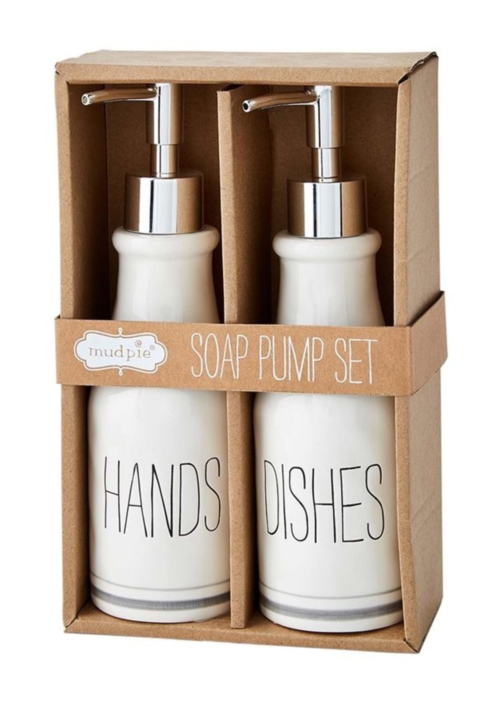 Mud Pie Soap Pump Set