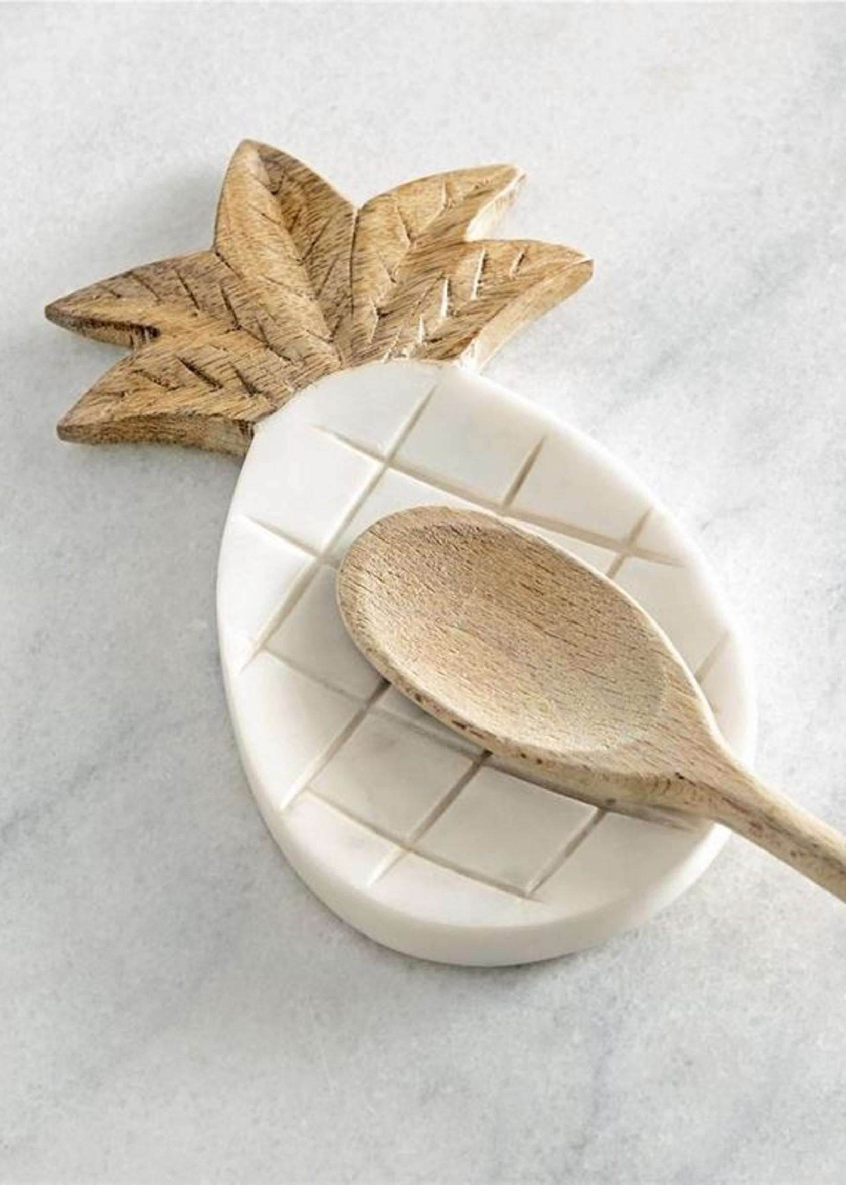 Mud Pie Pineapple Spoon Rest
