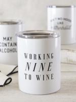 SB Design Studio Travel Tumbler | Nine to Wine