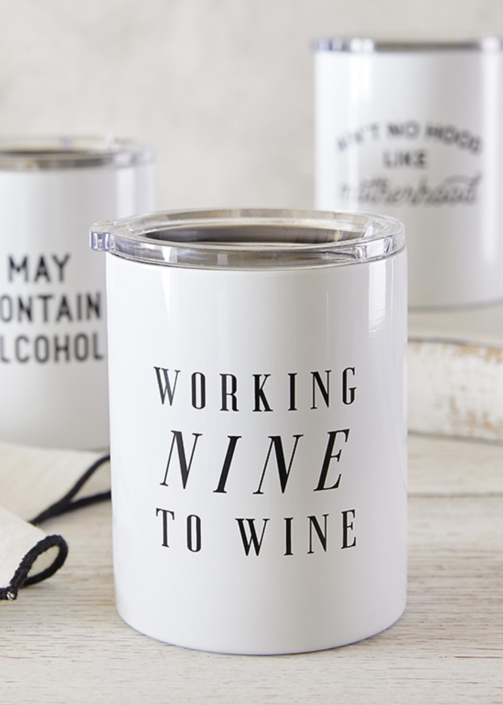 SB Design Studio Travel Tumbler   Nine to Wine