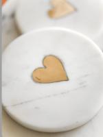 Indaba Trading Co Sweetheart Coasters | Circle