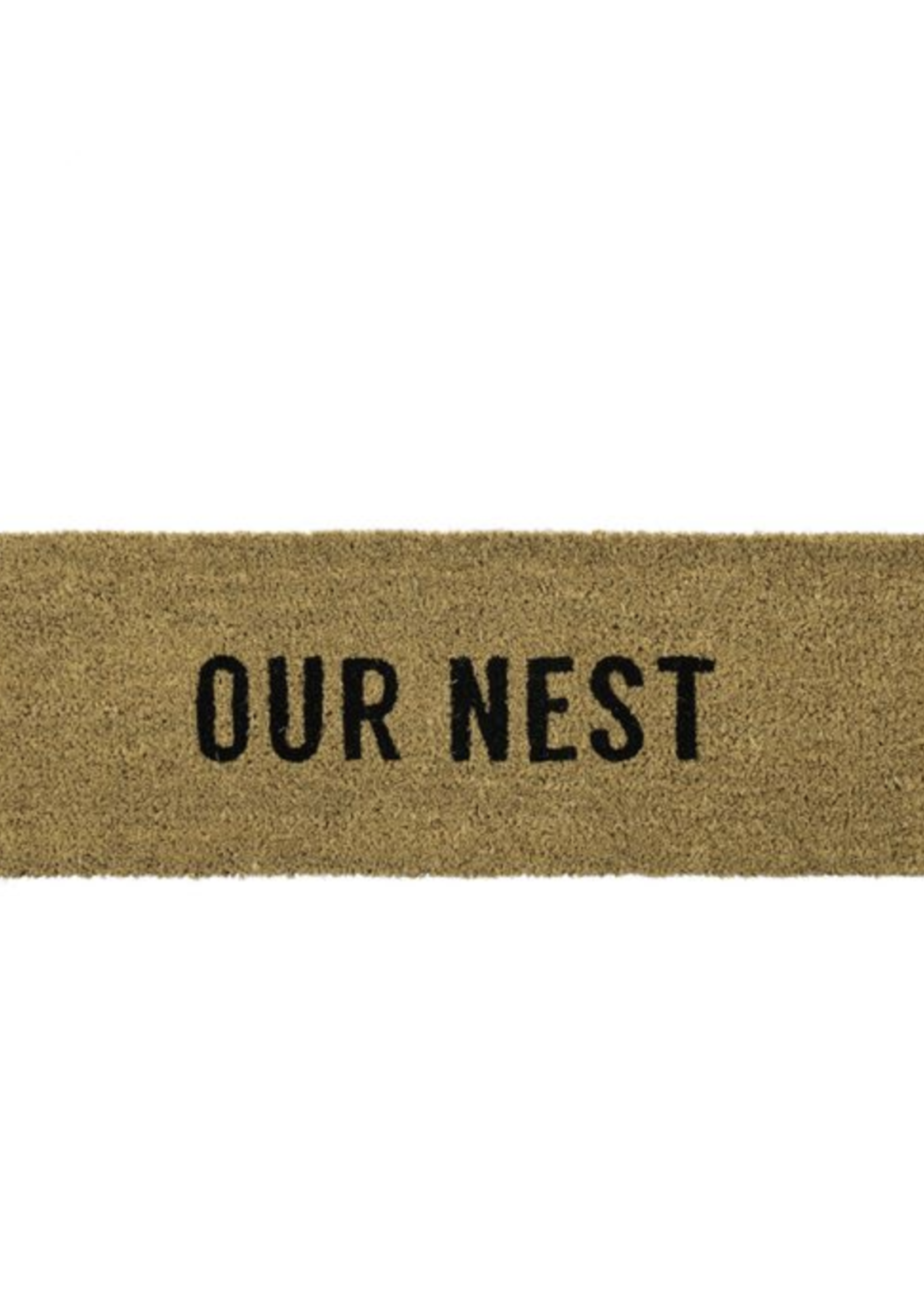 Indaba Trading Co Our Nest Doormat