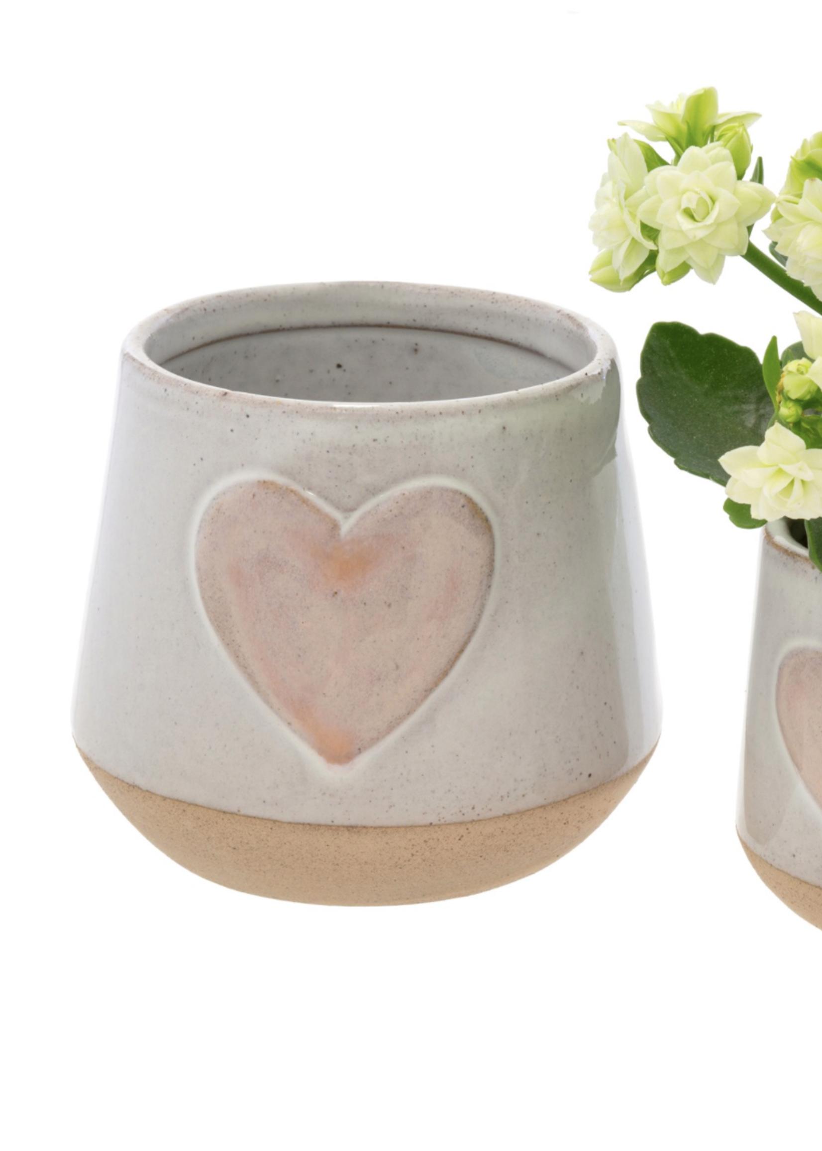 Indaba Trading Co Large Love Pot
