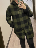 RD Style Hooded Shacket   Olive