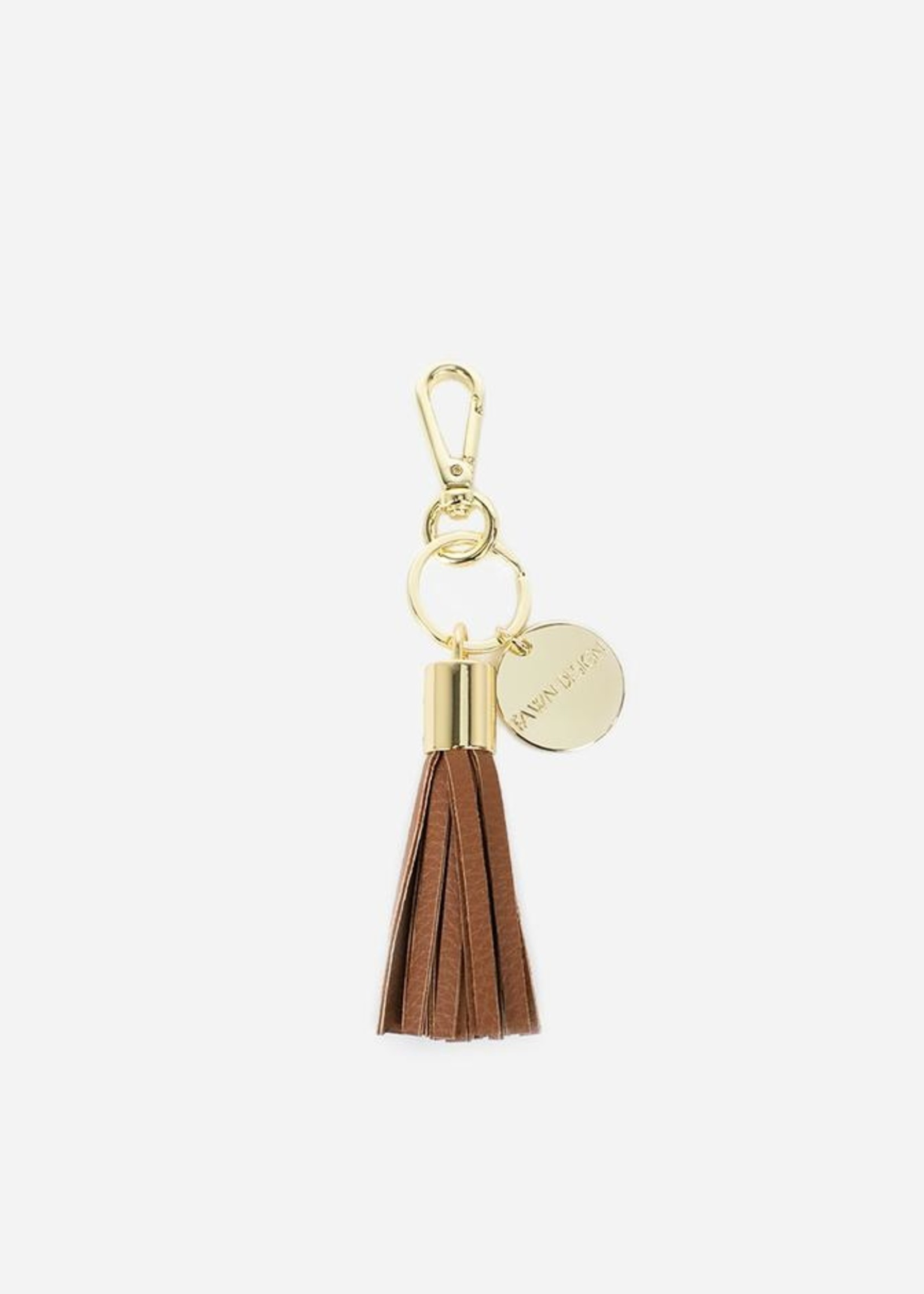 Fawn Design Tassel Keychain