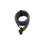 On Guard Doberman Series Coiled Cable Key Lock 185cm x 12mm