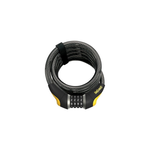 On Guard Doberman Series Coiled Cable Combo Lock 185cm x 15mm