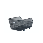 Basil Cento WSL Rear Basket Steel Mesh Black