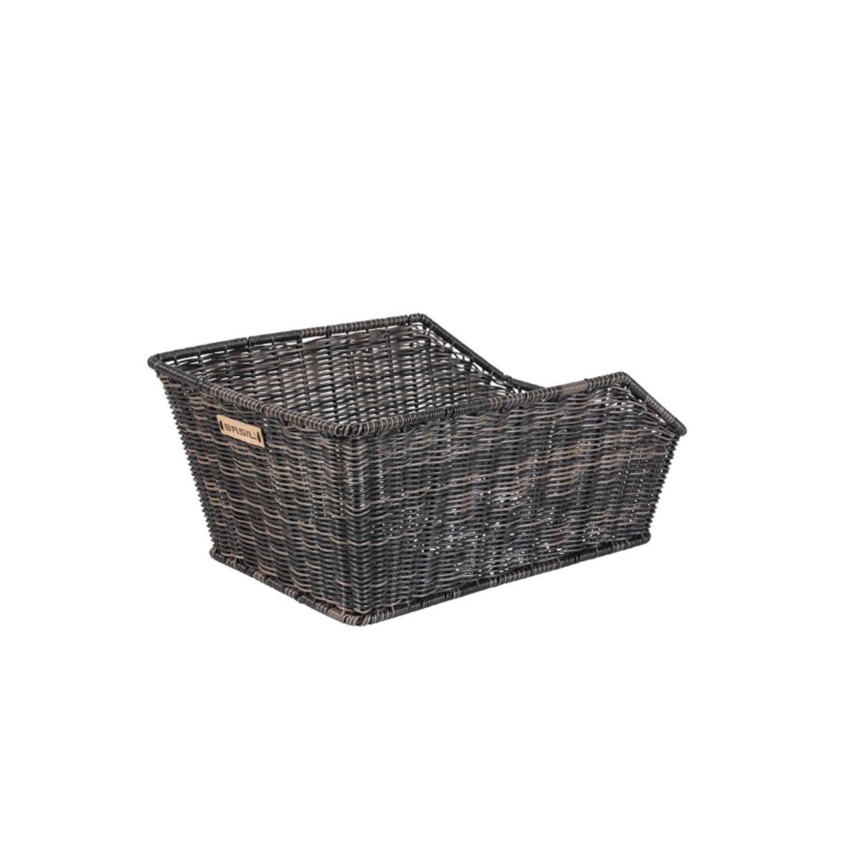 Basil Cento Rear Basket Rattan Look