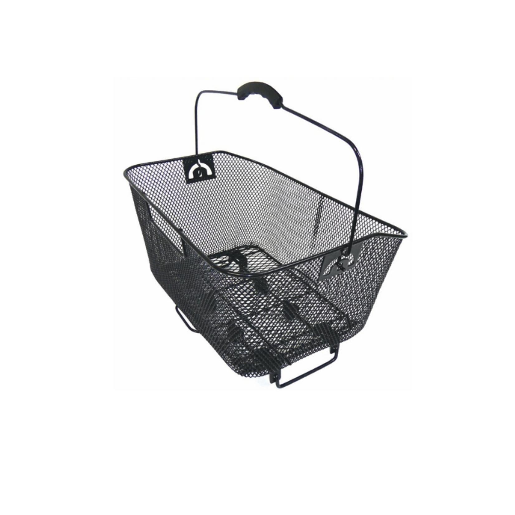 Azur Rear Basket Quick Release Mesh Black