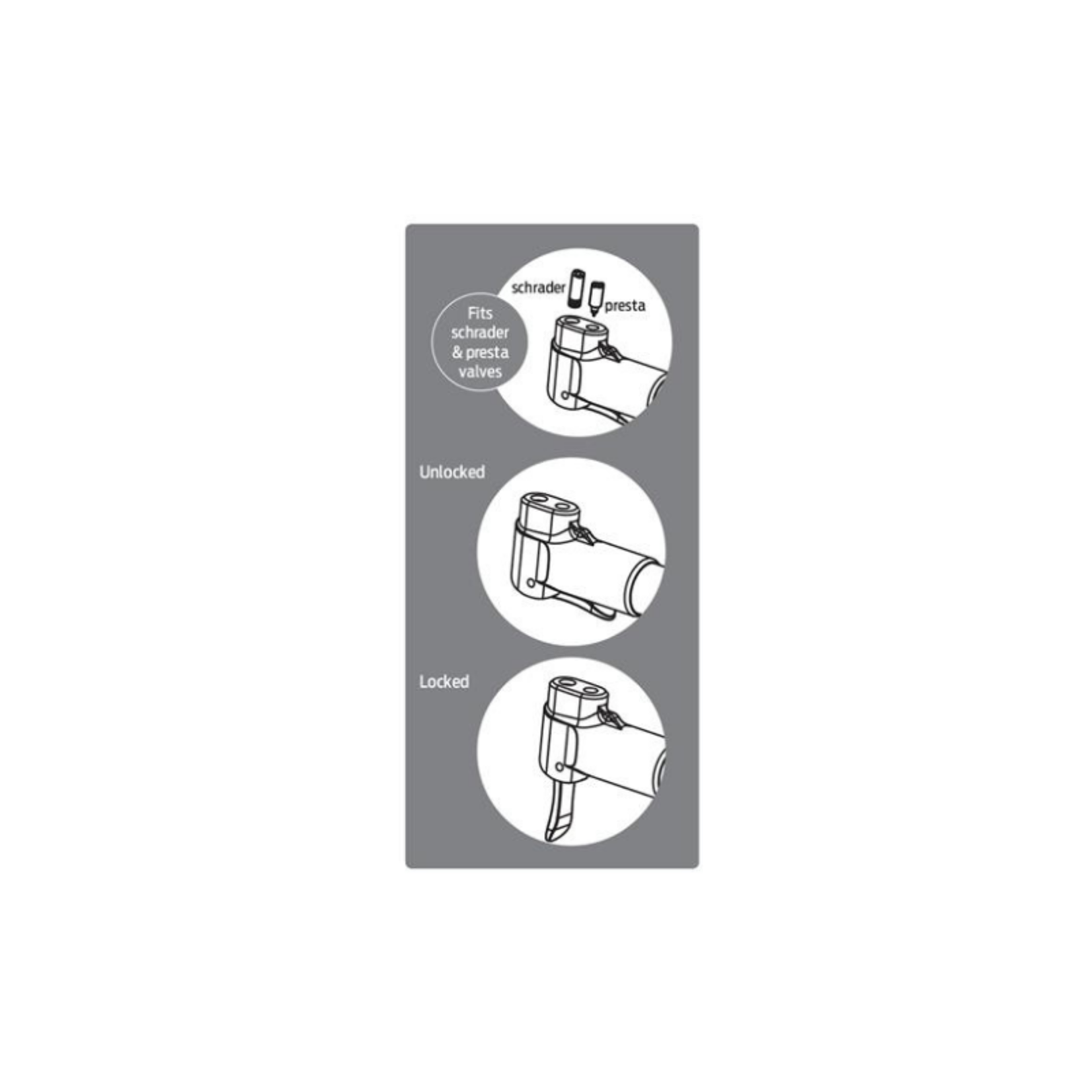 Azur Dual Head Hand Pump with Gauge