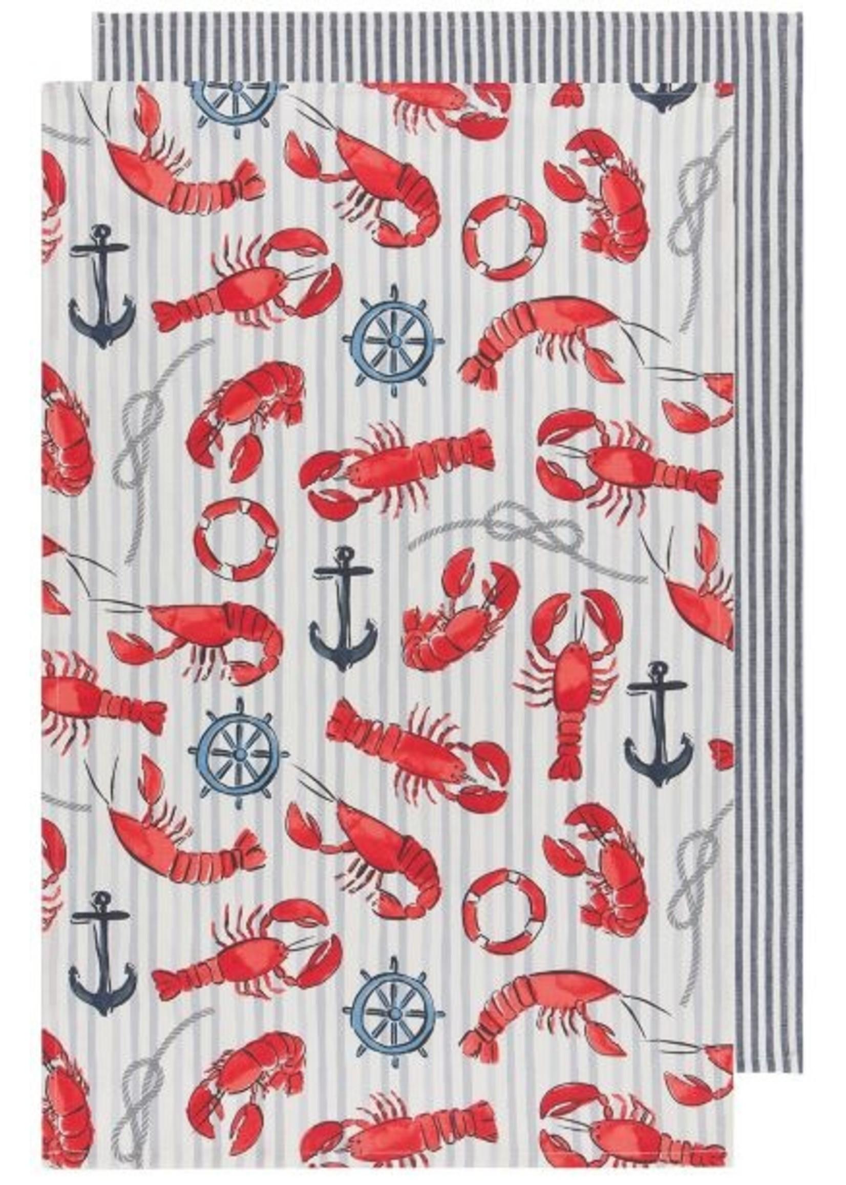 Now Designs Lobster Dishtowels Set of 2
