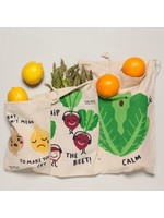Now Designs Funny Food Produce Bags Set of 3