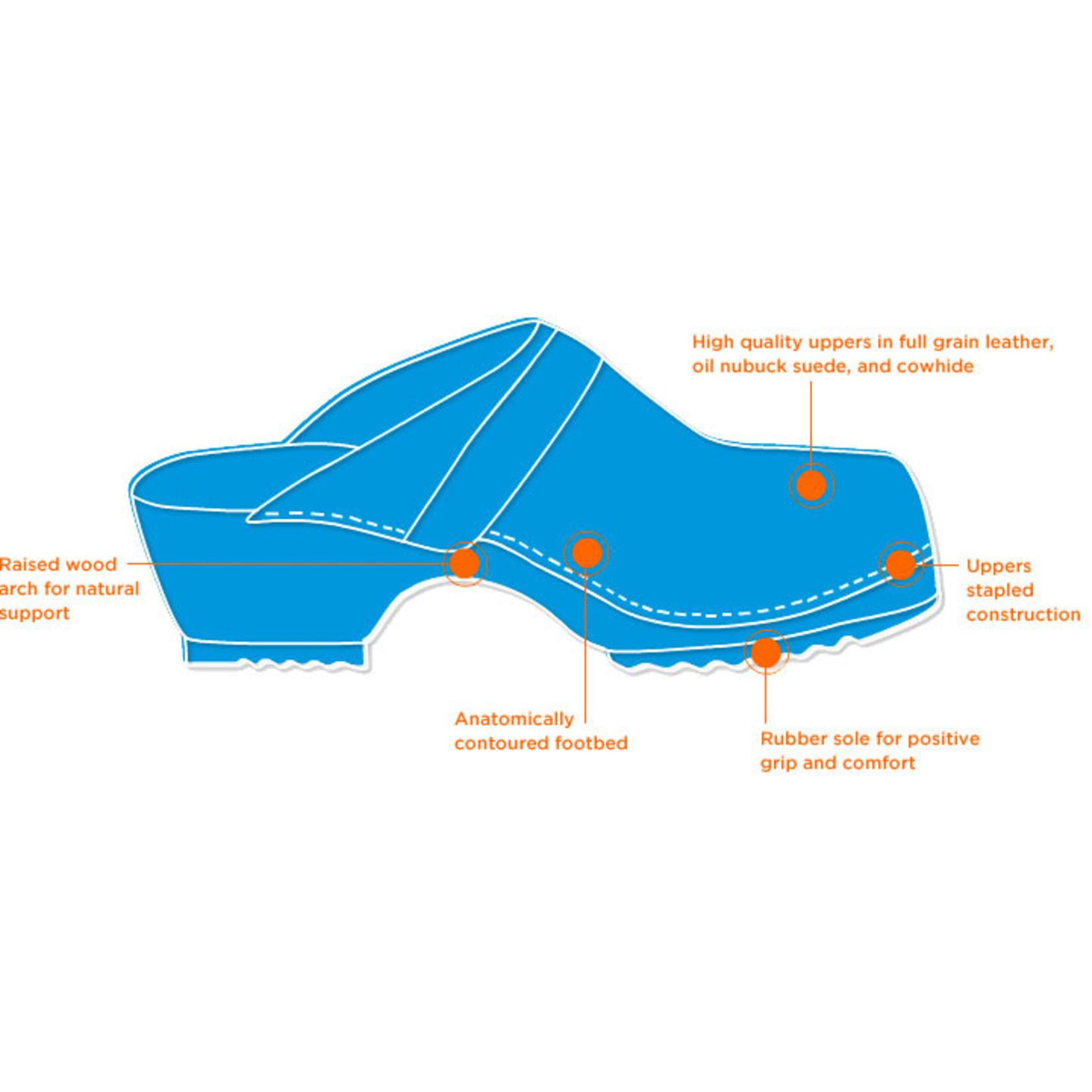 CAPE CLOGS METALLIC CAPE CLOG