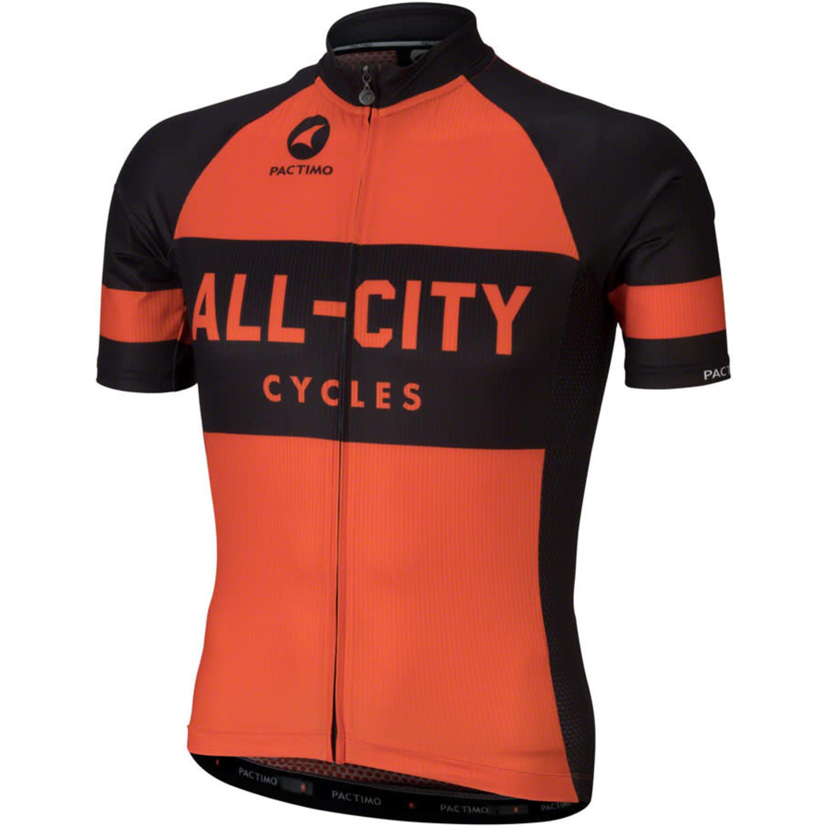 All-City All-City Classic Jersey - Orange, Short Sleeve, Men's, X-Small