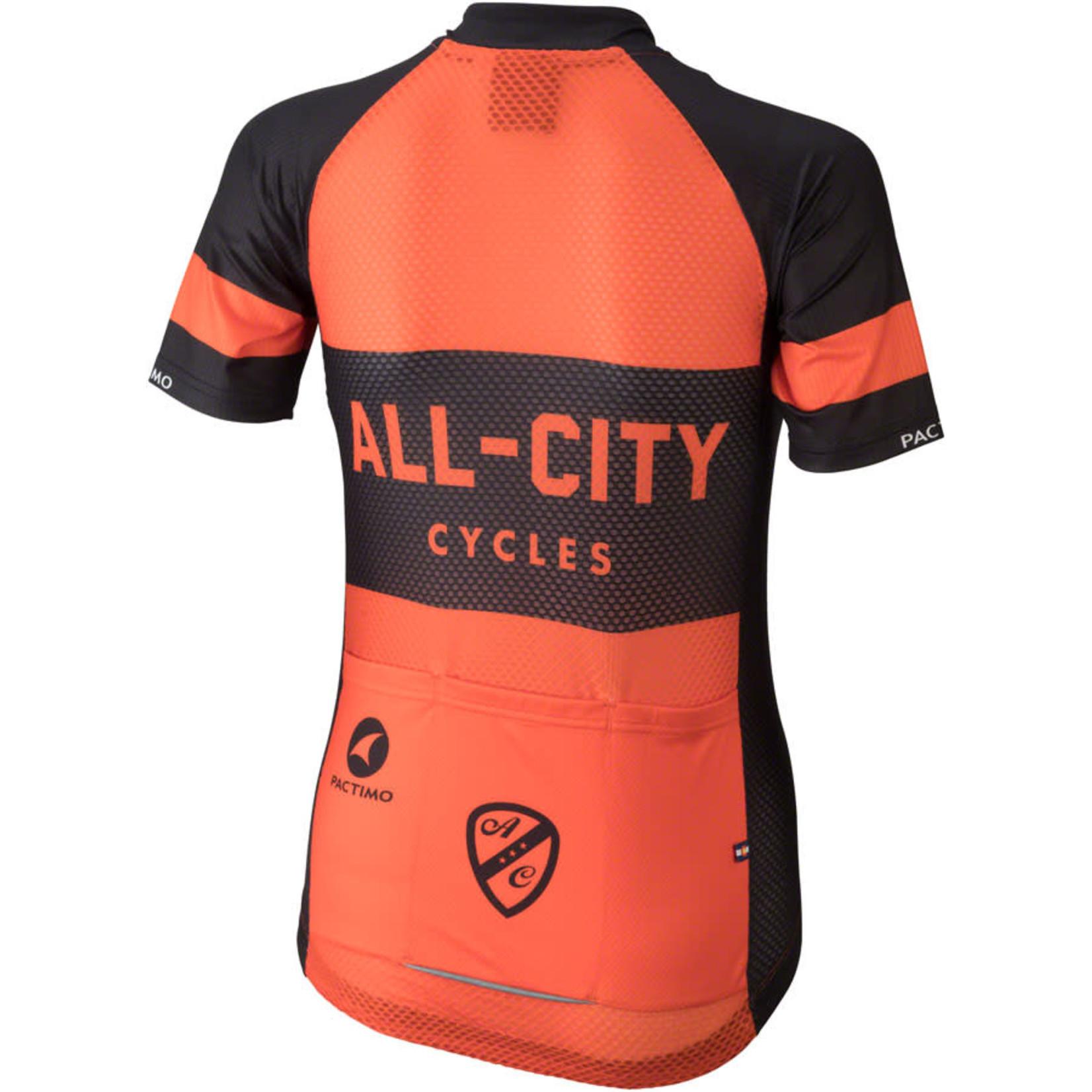 All-City All-City Classic Jersey - Orange, Short Sleeve, Women's, X-Small