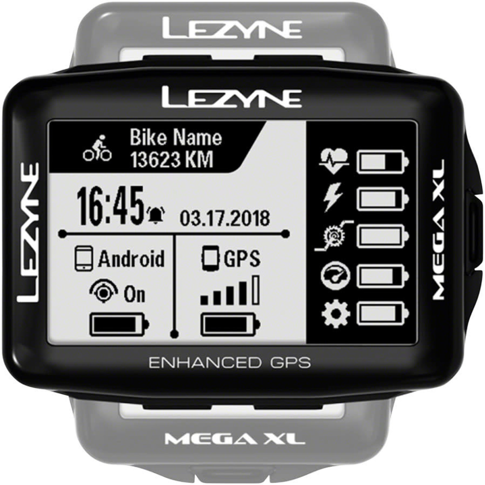 Lezyne Lezyne Mega XL GPS HR Computer