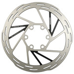SRAM SRAM Paceline Disc Brake Rotor - 140mm, 6-Bolt, Silver/Black