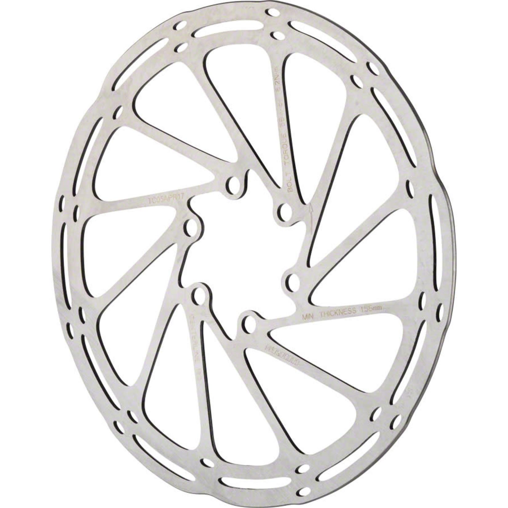 SRAM SRAM CenterLine Disc Brake Rotor - 140mm, 6-Bolt, Silver