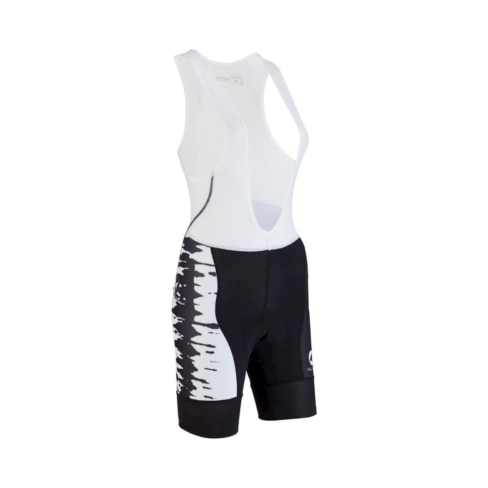 All-City Wangaaa! Women's Bib Short: Black/White XL