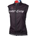 All-City Team Women's Vest: Black/Red/Blue 2XL