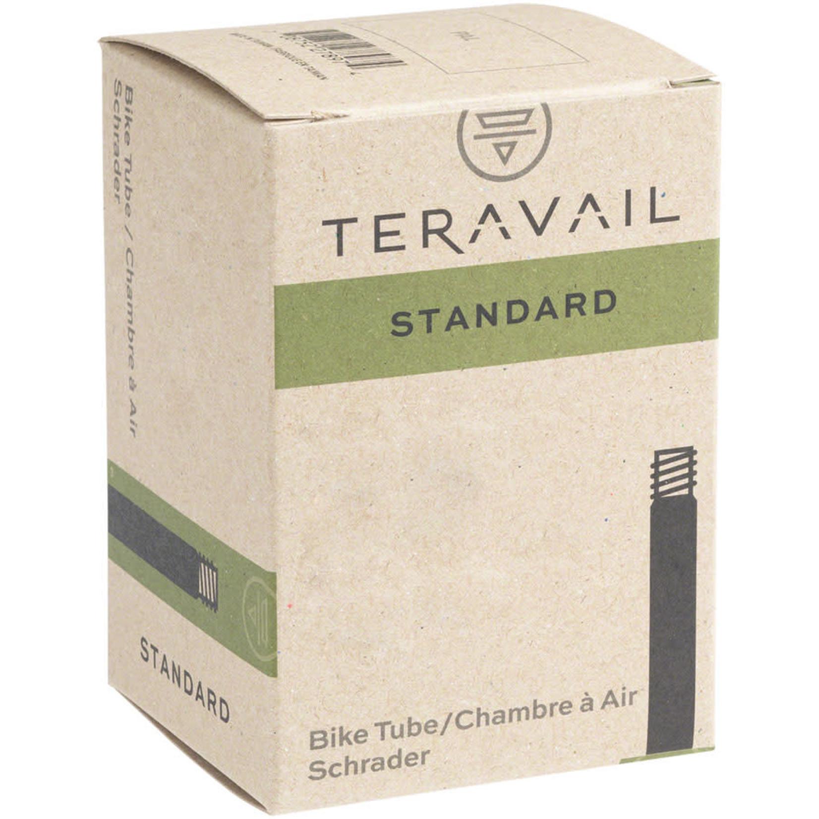 "Q-Tubes Q-Tubes / Teravail 14"" x 1.5-2.25"" Tube: Low Lead Schrader Valve"