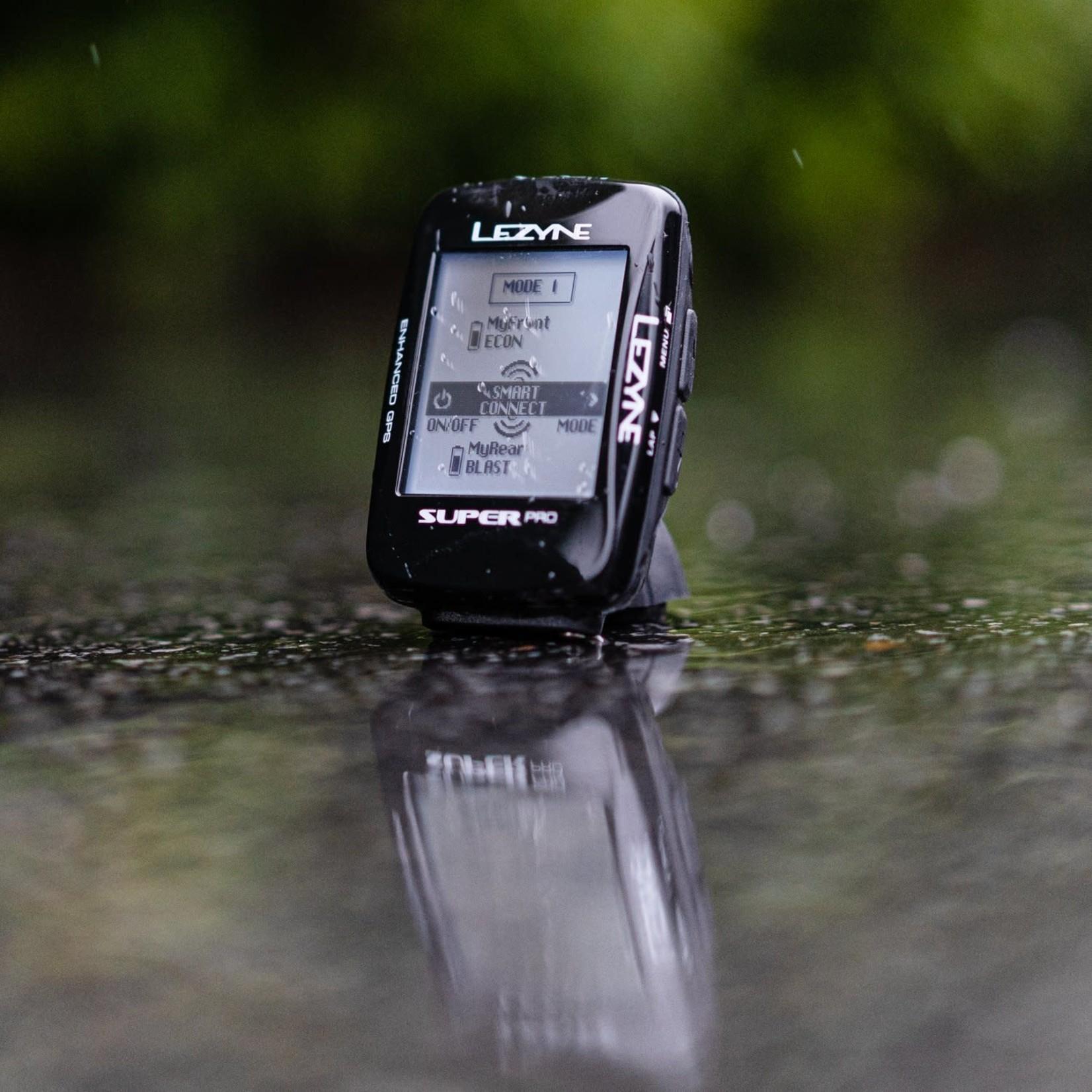 Lezyne Lezyne Super Pro GPS HR Computer with Cadence