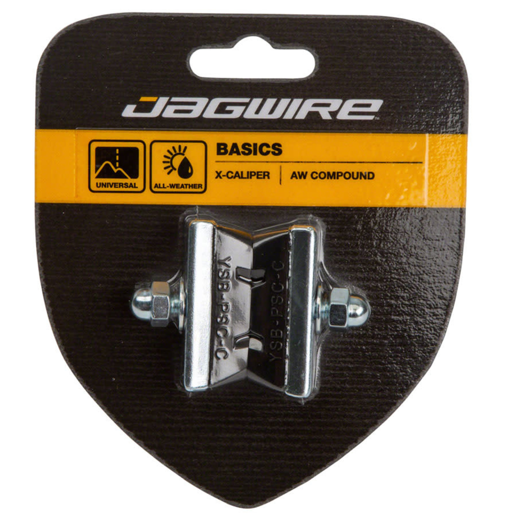 Jagwire Jagwire Basics X-Age Molded Brake Pads Threaded 50mm Pad