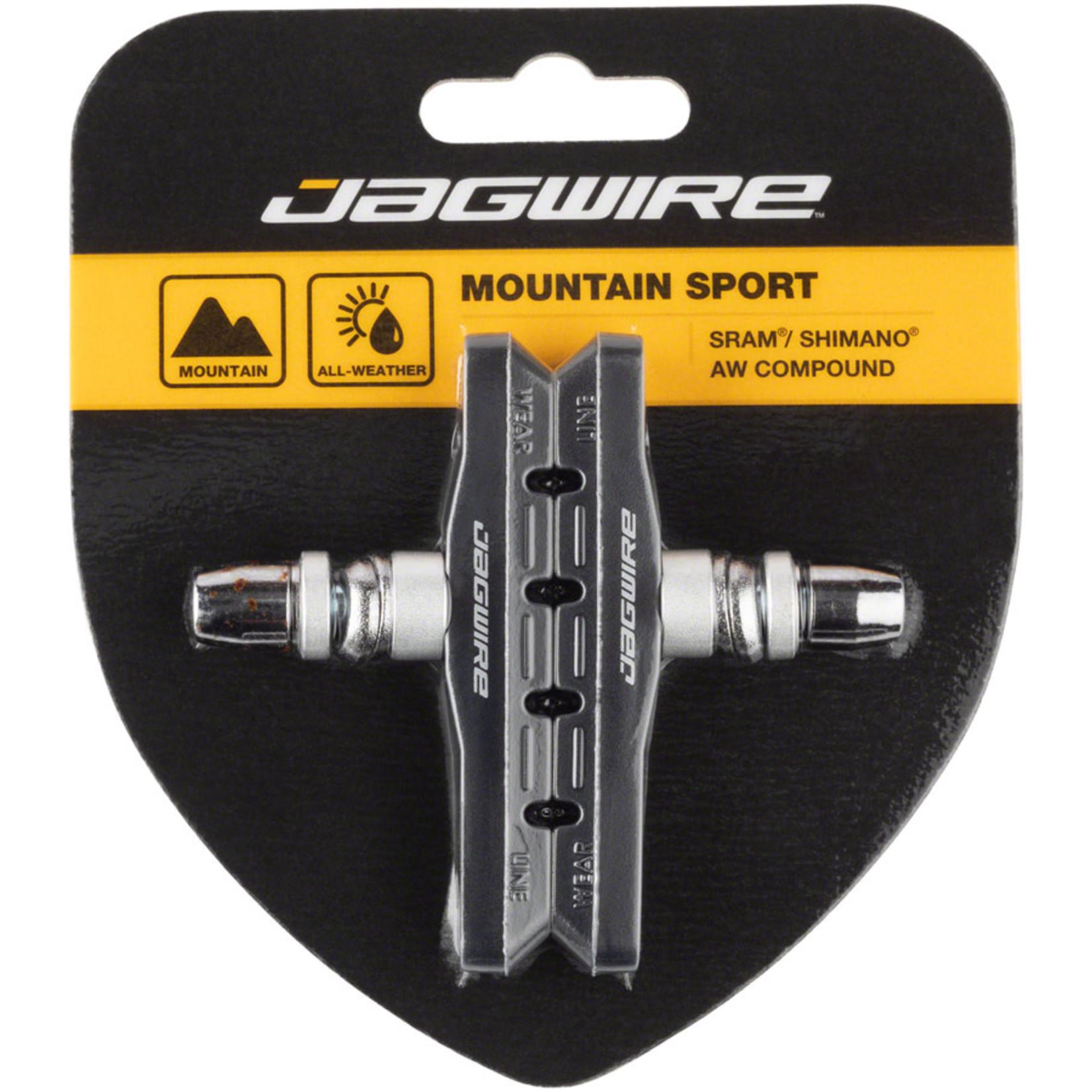 Jagwire Jagwire Mountain Sport Brake Pads Threaded Post Black