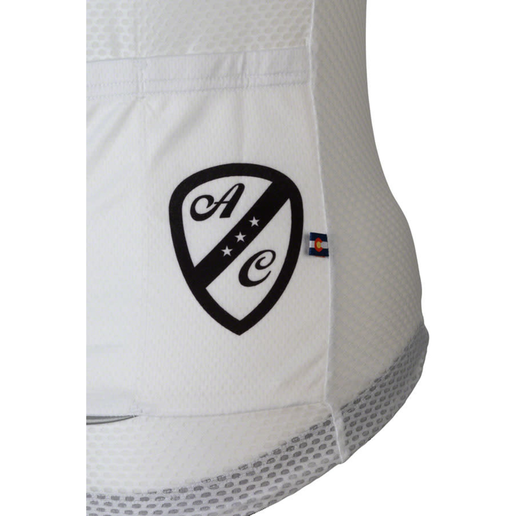 All-City Classic Jersey - White/Black, Short Sleeve, Women's, X-Large