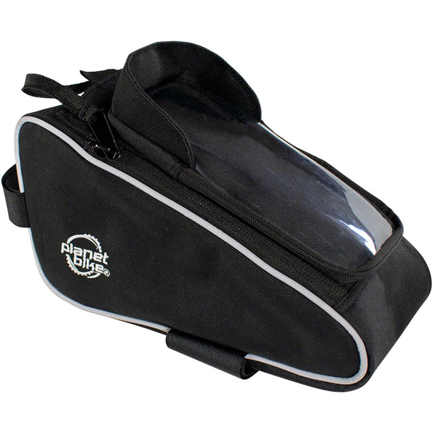 Planet Bike Planet Bike Lunch Box Top Tube/Stem Bag - 74 Cu In, Black