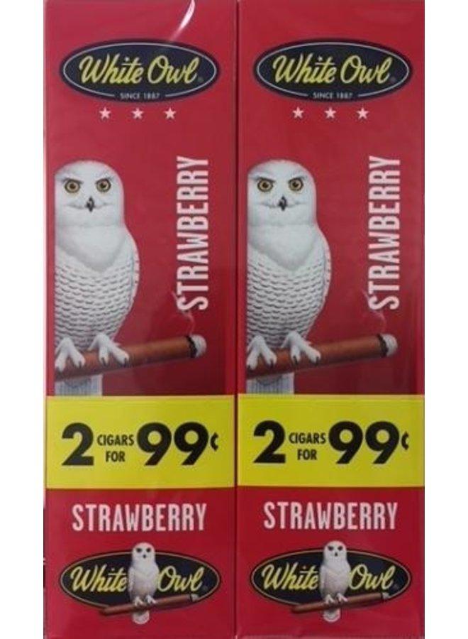 WHITE OWL - Strawberry